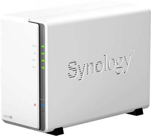 "Сетевой накопитель Synology DS216SE Сетевой накопитель с 2 отсеками для 3.5"" SATA(II) или 2,5"" SATA/SSD synology synology ds716 ii"