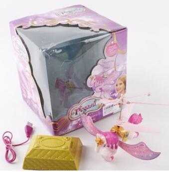 Игрушка Shantou Pegasus летающая радиоуправляемая игрушка летающая фея