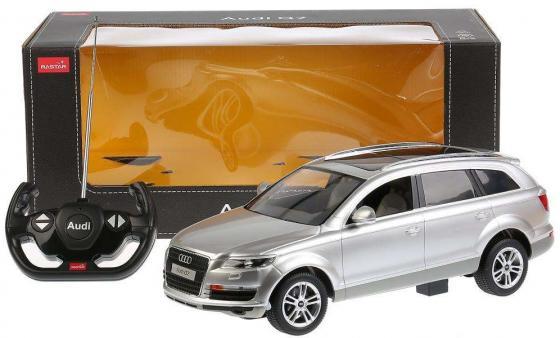 Машинка на радиоуправлении RASTAR Audi Q7 в ассортименте от 4 лет пластик, металл машинка на радиоуправлении rastar volkswagen touareg от 4 лет пластик в ассортименте 49300