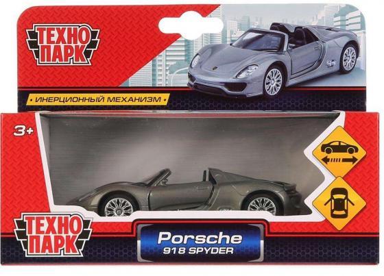 ТМ Технопарк. Машина металл Porsche 918 Spyder, 1:41, открыв. двери, инерц. в кор. в кор.2*36шт 1 машина quot ветеринарная службаquot технопарк