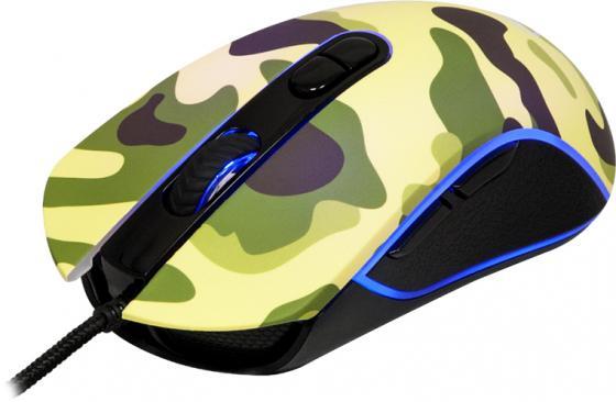 Мышь проводная Marvo M425 Camo камуфляж USB цена и фото