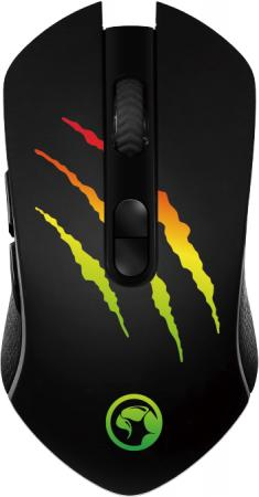 Мышь MARVO M425G Black USB оптическая, 3200 dpi, 6 кнопок + колесо манипулятор qumo dragon war blackout 3200 dpi usb