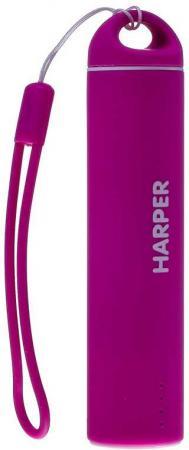 Внешний аккумулятор HARPER PB-2602 Pink внешний аккумулятор harper pb 2602 pink