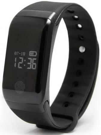 "Умный браслет GINZZU GZ-301 black, 0.66"", IP67 цена и фото"