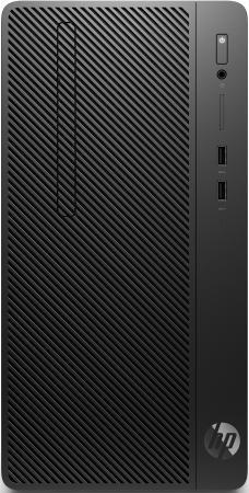 ПК HP 290 G2 MT i3 8100 (3.6)/4Gb/1Tb 7.2k/UHDG 630/DVDRW/CR/Windows 10 Professional 64/GbitEth/180W/клавиатура/мышь/черный пк hp 280 g2 sff i3 6100 4gb 500gb 7 2k hdg dvdrw windows 10 professional 64 eth клавиатура мышь