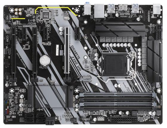 Материнская плата GigaByte Z390 UD Socket 1151 v2 Z390 4xDDR4 3xPCI-E 16x 3xPCI-E 1x 6 ATX Retail