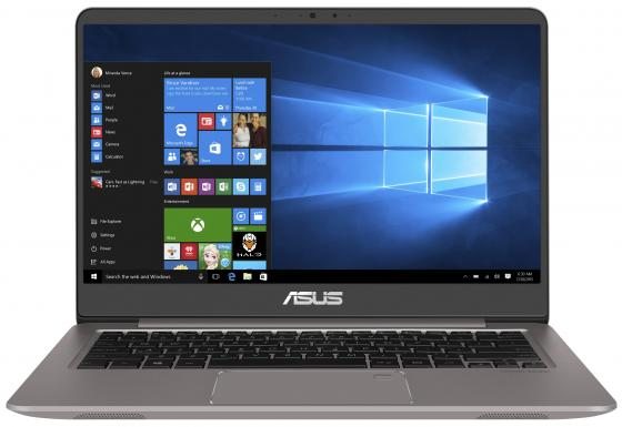 Ноутбук ASUS Zenbook UX410UF-GV118T 14 1920x1080 Intel Core i5-8250U 256 Gb 8Gb nVidia GeForce MX130 2048 Мб серый Windows 10 Home 90NB0HZ3-M03840 ноутбук ноутбук asus zenbook ux410uf