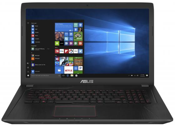 Ноутбук ASUS FX753VD-GC128 17.3 1920x1080 Intel Core i7-7700HQ 1 Tb 256 Gb 8Gb nVidia GeForce GTX 1050 2048 Мб черный Endless OS 90NB0DM3-M09520 футболка классическая printio rebel punk