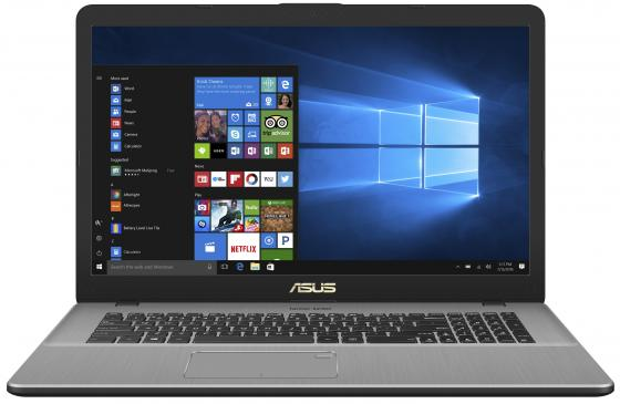 "Ноутбук ASUS N705UF-GC138T 17.3"" 1920x1080 Intel Core i3-7100U 1 Tb 6Gb nVidia GeForce MX130 2048 Мб серый Windows 10 Home 90NB0IE1-M01760 цена 2017"