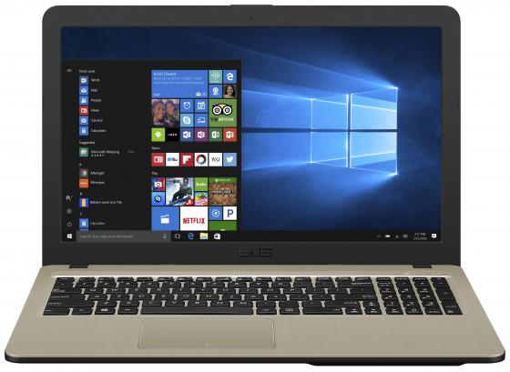 "Ноутбук ASUS X540UA-DM597 15.6"" 1920x1080 Intel Core i3-6006U 256 Gb 4Gb Intel HD Graphics 520 черный Endless OS 90NB0HF1-M08740 все цены"