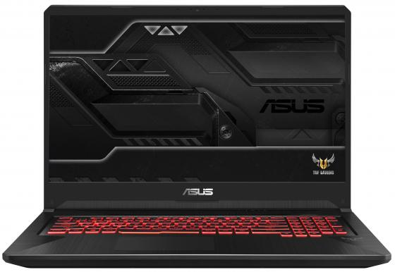 Ноутбук ASUS TUF Gaming FX705GD-EW081 17.3 1920x1080 Intel Core i5-8300H 1 Tb 128 Gb 8Gb Bluetooth 5.0 nVidia GeForce GTX 1050 4096 Мб черный Без ОС 90NR0112-M01660 системный блок just home intel® core™ i5 7400 3 0ghz s1151 h110m r c si 8gb ddr4 2400mhz hdd sata 2tb 7200 32mb 6144mb geforce gtx 1060 atx 600w