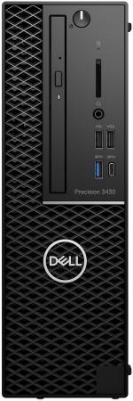 ПК Dell Precision 3430 SFF Xeon E3 2146G (3.3)/16Gb/1Tb/SSD256Gb/HDGP630/DVDRW/Windows 10 Professional/GbitEth/290W/черный цена