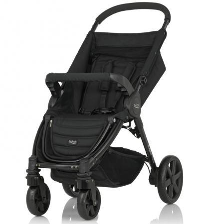 Коляска прогулочная Britax B-Agile 4 Plus (cosmos black) коляска britax b motion 4 cosmos black