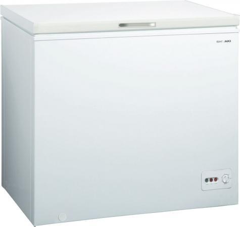 Морозильный ларь Shivaki CF-3001W белый морозильный ларь nord sf 250