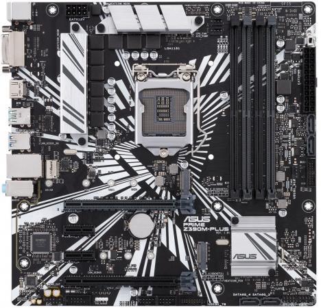 цена на Материнская плата ASUS PRIME Z390M-PLUS Socket 1151 Z390 4xDDR4 2xPCI-E 16x 2xPCI-E 1x 4 mATX
