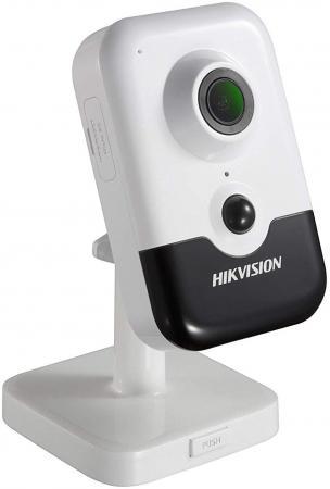 Видеокамера Hikvision DS-2CD2423G0-I CMOS 1/2.8 4 мм 1920 x 1080 Н.265 H.264 MJPEG RJ-45 PoE белый камера ip hikvision ds 2cd2023g0 i cmos 1 2 8 4 мм 1920 x 1080 h 264 н 265 rj 45 poe серый белый