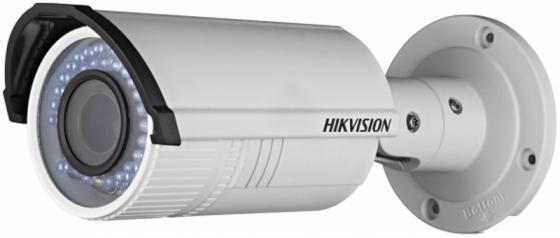 все цены на Видеокамера IP Hikvision DS-2CD2620F-I 2.8-12мм цветная корп.:белый онлайн