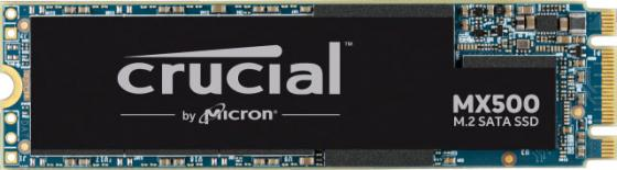 Накопитель SSD Crucial SATA III 500Gb CT500MX500SSD4N MX500 M.2 2280 ssd накопитель transcend ts120gmts820s 120гб m 2 2280 sata iii