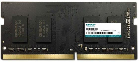 Оперативная память для ноутбука 4Gb (1x4Gb) PC4-19200 2400MHz DDR4 SO-DIMM CL15 KingMax KM-SD4-2400-4GS