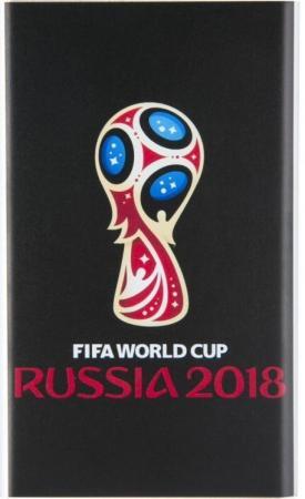 Мобильный аккумулятор Redline J01 FIFA Кубок Li-Pol 4000mAh 1A черный 1xUSB babyhit flora light blue