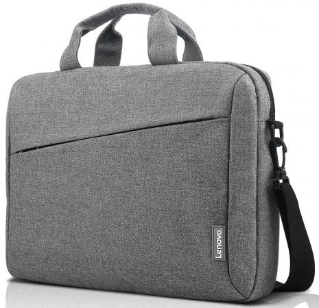 Сумка для ноутбука 15.6 Lenovo Toploader T210 полиэстер серый GX40Q17231 new briefcase bags for lenovo thinkpad tl410 laptop bag 1515 6 inch sleeve messenger handbag shoulder sags toploader leather