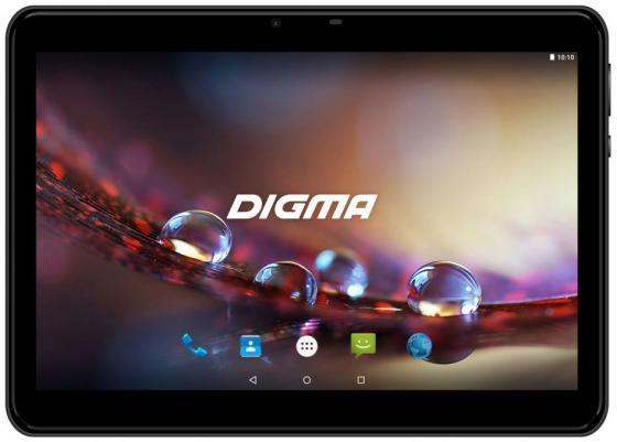"""цена Планшет Digma Plane 1572N 3G MTK8321 (1.3) 4C/RAM2Gb/ROM16Gb 10.1"""" IPS 1280x800/3G/Android 7.0/черный/2Mpix/0.3Mpix/BT/GPS/WiFi/Touch/microSD 64Gb/minUSB/5000mAh онлайн в 2017 году"""