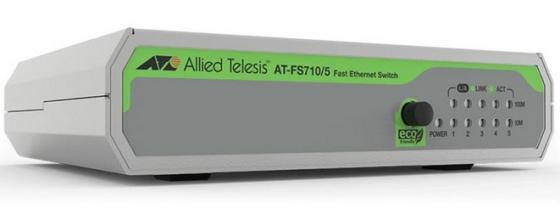 Коммутатор Allied Telesis AT-FS710/5-50 5x100Mb коммутатор allied telesis at fs710 24 50 24x100mb неуправляемый