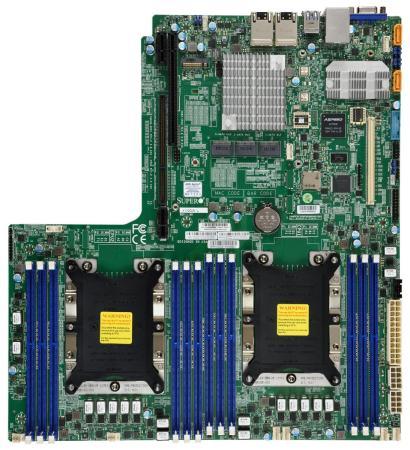 лучшая цена Материнская плата Supermicro MBD-X11DDW-L-O Socket 3647 C621 12xDDR4 1xPCI-E 16x 14 EATX Retail