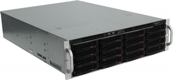 Серверный корпус 3U Supermicro CSE-836BE1C-R1K23B 2 х 1200 Вт чёрный