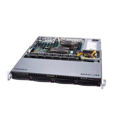 лучшая цена Корпус SuperMicro CSE-813MF2TQC-505CB 500W черный