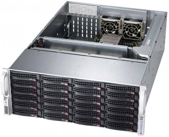 Серверный корпус 4U Supermicro CSE-846BA-R920B 2 x 920 Вт чёрный цена и фото