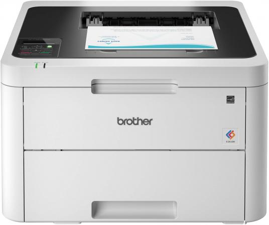 Принтер светодиодный Brother HL-L3230CDW (HLL3230CDWR1) A4 Net WiFi принтер лазерный brother hl l3230cdw светодиодный цвет белый [hll3230cdwr1]