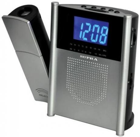 цена на Радиобудильник Supra SA-24FM черный LED подсв:красная часы:цифровые FM/УКВ