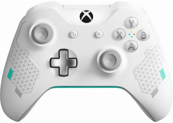 Геймпад Беспроводной Microsoft Sport White WL3-00083 белый для: Xbox One (WL3-00083) геймпад игра microsoft xbox one wireless controller gears of war ultimate edition