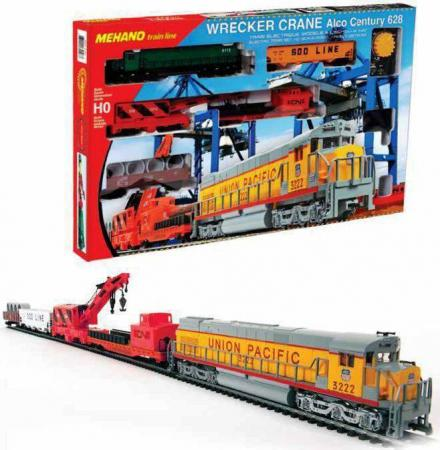 Железная дорога MEHANO Wrecker Crane от 8 лет