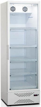 лучшая цена Холодильная витрина Бирюса Б-460DNQ белый (однокамерный)