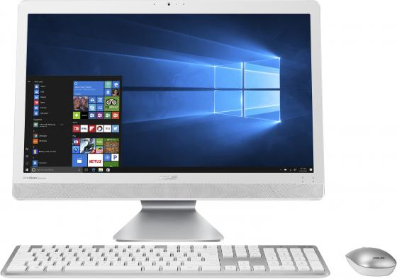 "цена Asus V221ICUK-WA008D [90PT01U2-M02690] white 21.5"" {FHD i3-7100U/4Gb/500Gb/DOS/k+m}"