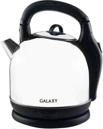Чайник электрический GALAXY GL 0306 2200 Вт серебристый 3.6 л нержавеющая сталь чайник galaxy gl 0101 2200 вт голубой белый 1 7 л пластик