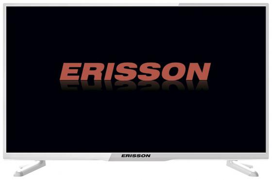 "Телевизор LED 32"" Erisson 32LES58T2WSM белый 1366x768 50 Гц Wi-Fi VGA"
