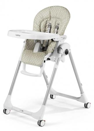 Стульчик для кормления Peg-Perego Prima Pappa Follow Me (babydot beige) follow me down