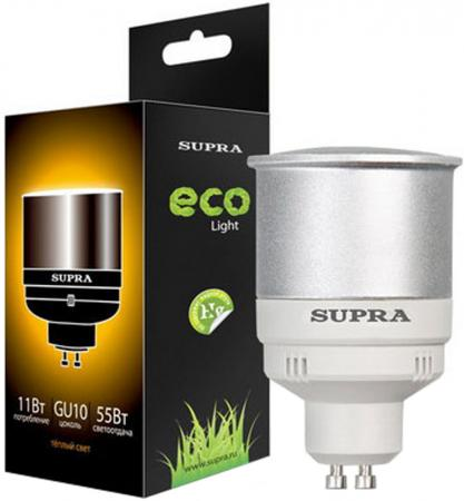 Лампа люминесцентная Supra SL-R-11/2700/GU10