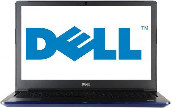 Ноутбук Dell Vostro 5568 i5-7200U (2.5)/4G/1T/15,6FHD AG/NV GTX940MX 2G/noODD/Backlit/Win10 (5568-7226) Blue ноутбук трансформер dell vostro 5568 5568 2846