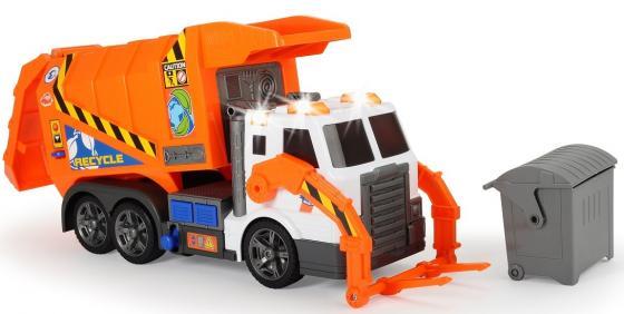 Мусоровоз Dickie 3308369 Мусоровоз оранжевый мусоровоз функциональный 55 см dickie