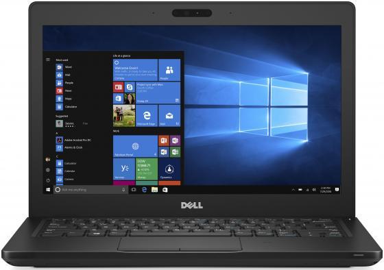 Ноутбук Dell Latitude 5280 Core i5 7300U/8Gb/SSD256Gb/Intel HD Graphics 620/12.5/FHD (1920x1080)/Linux/black/WiFi/BT/Cam ноутбук dell latitude 5289 core i5 7200u 8gb ssd512gb intel hd graphics 620 12 5 ips touch fhd 1920x1080 4g windows 10 professional 64 black wifi bt cam