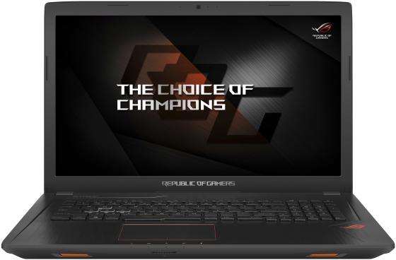 Ноутбук ASUS ROG GL753VD-GC091 17.3 1920x1080 Intel Core i7-7700HQ 1 Tb 128 Gb 8Gb nVidia GeForce GTX 1050 4096 Мб черный Linux 90NB0DM2-M09770 ноутбук asus rog gl753vd 90nb0dm2 m09250 black