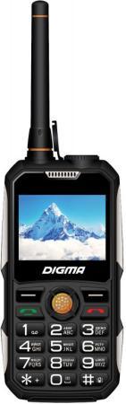 Мобильный телефон Digma A230WT 2G Linx 32Mb черный моноблок 2Sim 2.31 240x320 BT GSM900/1800 Ptotect MP3 FM microSD max8Gb сотовый телефон digma linx alfa 3g black