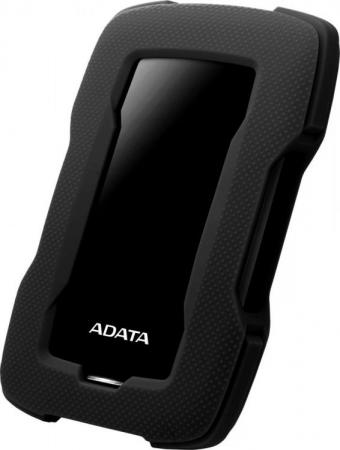 Жесткий диск A-Data USB 3.0 1Tb AHD330-1TU31-CBK HD330 DashDrive Durable 2.5 черный жесткий диск a data usb 3 0 4tb ahd330 4tu31 crd hd330 dashdrive durable 2 5 красный