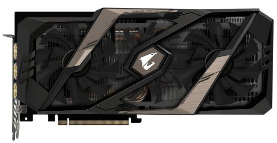 Видеокарта GigaByte nVidia GeForce RTX 2070 AORUS XTREME PCI-E 8192Mb GDDR6 256 Bit Retail GV-N2070AORUS X-8GC