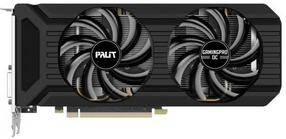 Купить Видеокарта Palit PCI-E PA-GTX1060 Gaming Pro OC+ 6G nVidia GeForce GTX 1060 6144Mb 192bit GDDR5 1708/8800 DVIx3/HDMIx1/DPx1/HDCP Ret