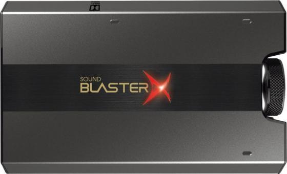 Звуковая карта Creative USB Sound BlasterX G6 (SB-Axx1) 7.1 Ret цены онлайн